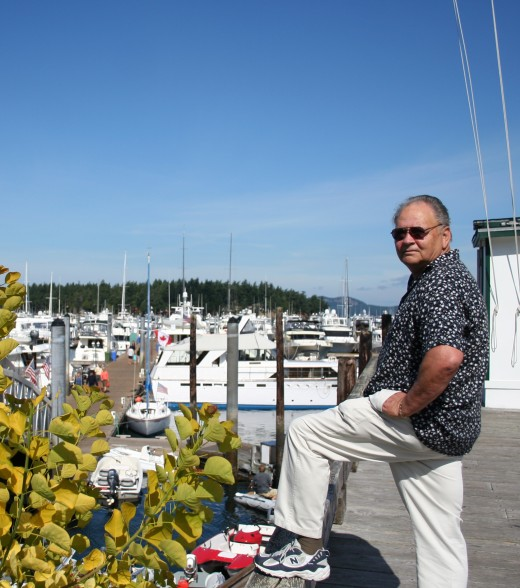 Larry at Roche Harbor Marina