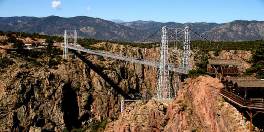 Royal Gorge Bridge,Colorado