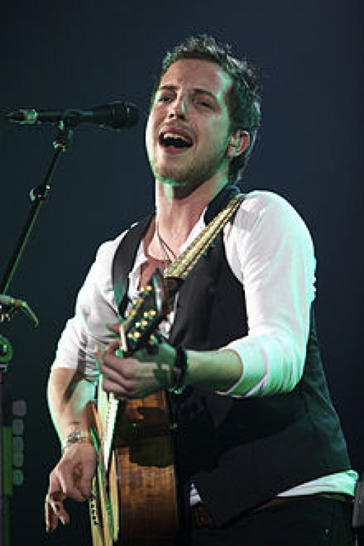 "James Morrison expresses feelings of love in the song ""You Make it Real."""