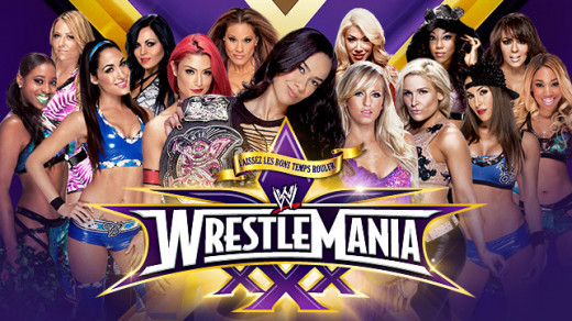 14 Divas in the ring and only one leaving as the Divas Champion