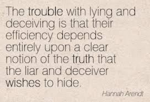 The lying effect.
