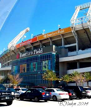 Jax is home to the football stadium, Everbank Field, situated in Downtown.