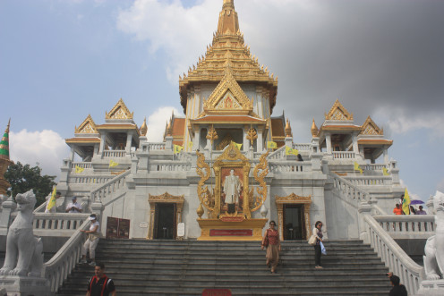 Wat Traimit Temple Exterior, Bangkok