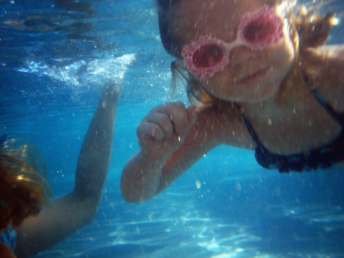 Swimming is considered one of the best forms of exercise for children and adults.