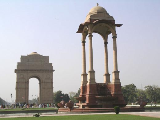 New Delhi India Gate & Monument