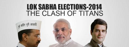 Narendra Modi,Arvind Kejriwal and Rahul Gandhi