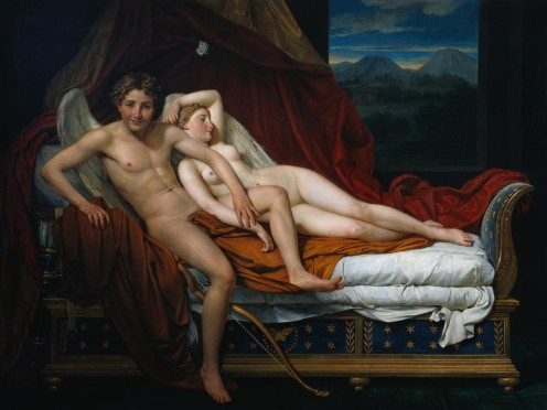 Psyche's Husband Visits at Night