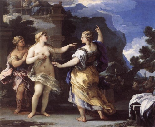 Aphrodite Orders Psyche to Tasks