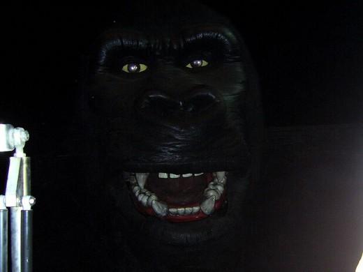 King Kong - he has banana breath
