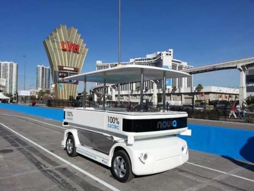 Navia Driverless Shuttle