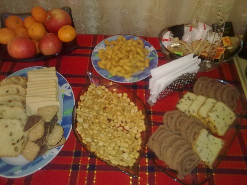 Sweets and cakes for Easter Celebrations.