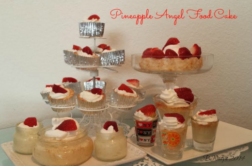 Serve this dessert in small containers or as cupcakes for an easy party food to serve guests.