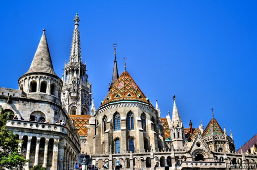 Pictures of the Matthias church