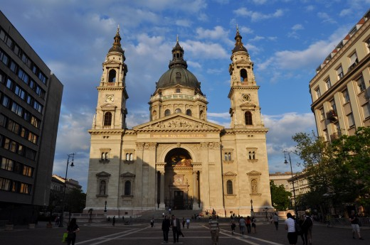 The Cathedral of St. Stephen (Szent István Katedrális) - also called The Basilica (Bazilika)