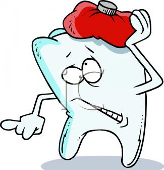Sad & hurt tooth
