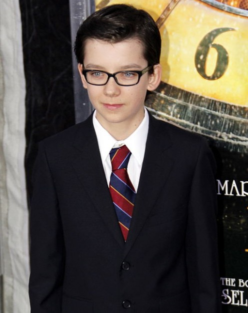 Asa Butterfield stars as the young hero in Ender's Game