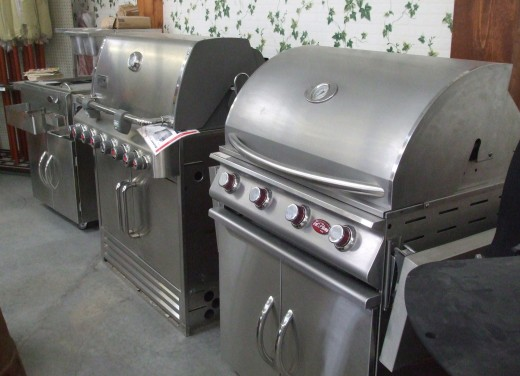 Grills for the total barbecue masters.