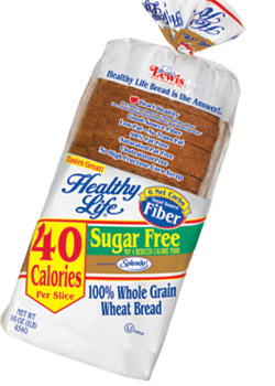 Breads can never be sugar free