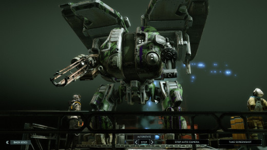Grenadier Class, showcasing one of the heaviest mechs of the game. Adding a layer to tactical gameplay, mechs are separated into either the Heavy, Medium, or Light classes.