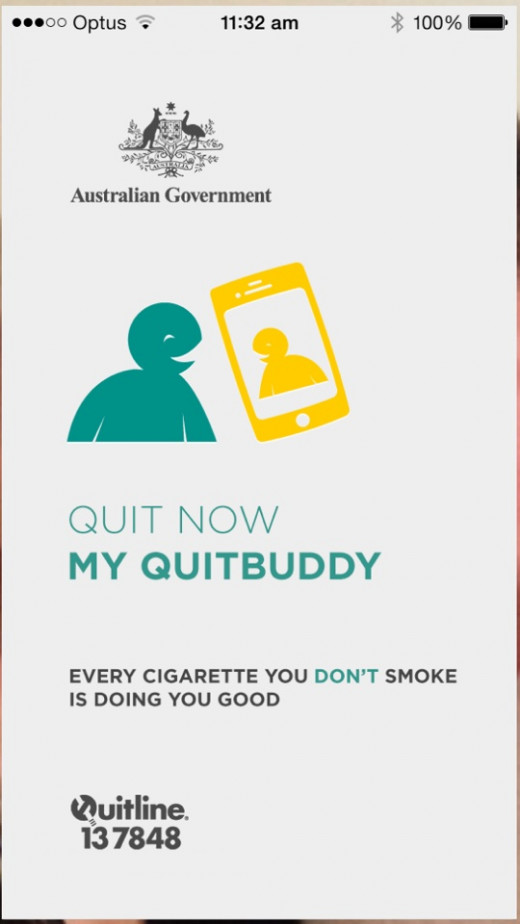 My QuitBuddy App Iphone App