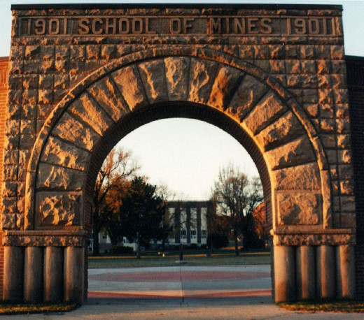 My own beloved South Dakota School of Mines and Technology!