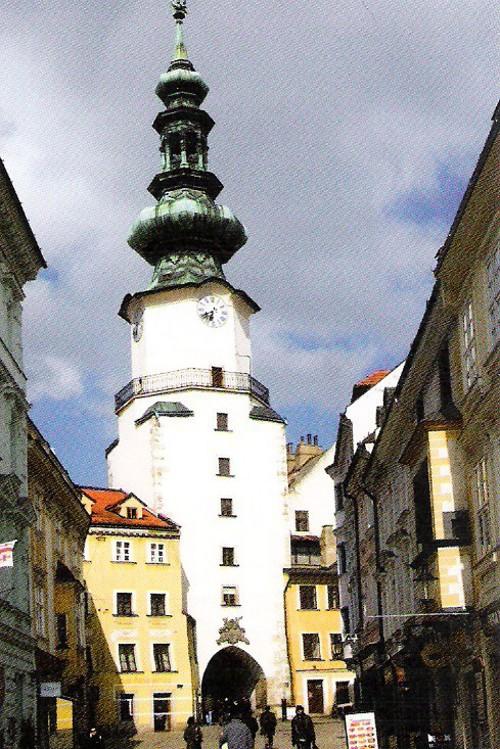 View from Michalská Street in Bratislava