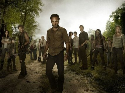 Most of the cast that fallows Rick.