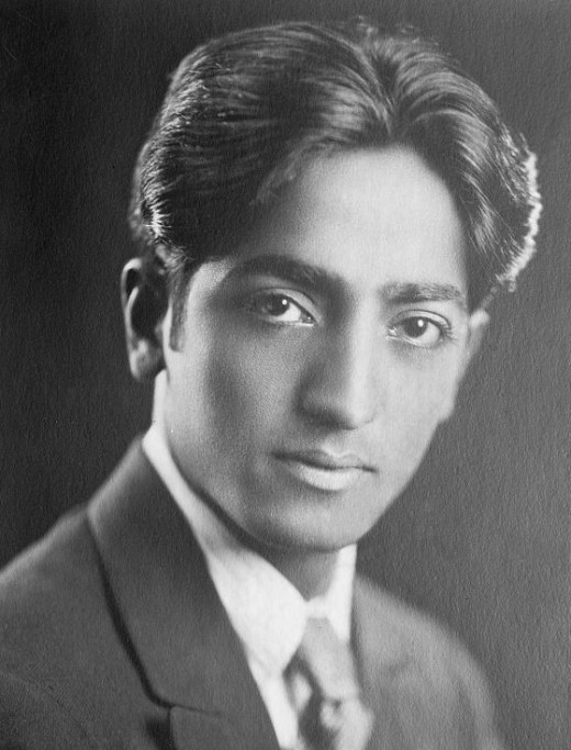 J Krishnamurti some time in the 1920s.