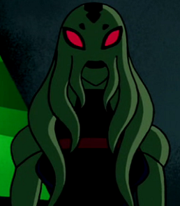 Myaxx is the scientific assistant of Azmuth and is a citizen of Vilgaxia. Image courtessy wikia.com