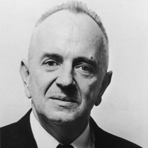 Theodosius Dobzhansky the noted Russian born biologist, geneticist, and evolutionist (1900 – 1975).