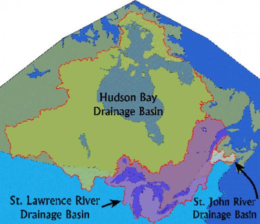 Hudson Bay drainage basin