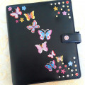 How To Customize Your Filofax Or Personal Planner: Add Jewels, Studs And Transfers