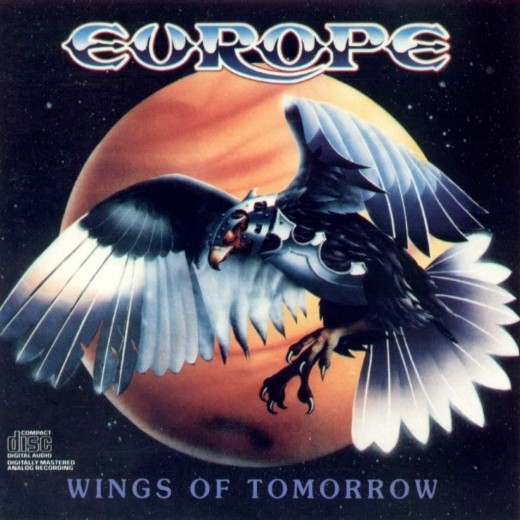 CD-Front cover of 1983's 'Wings of Tomorrow' album