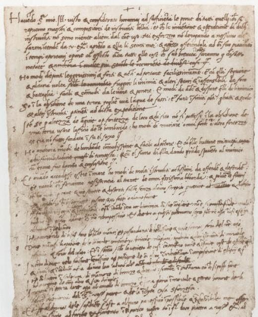 Leonardo's da Vinci's Resume