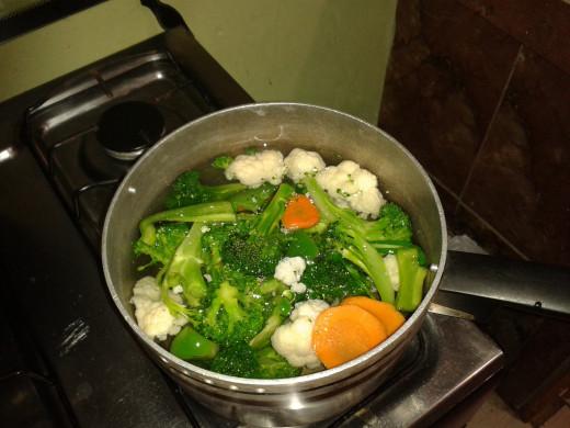 Veges Boiling