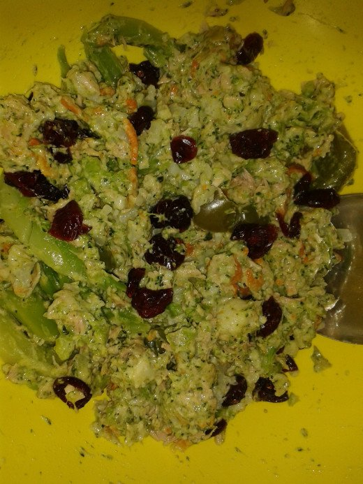 Completed Broccoli Salad