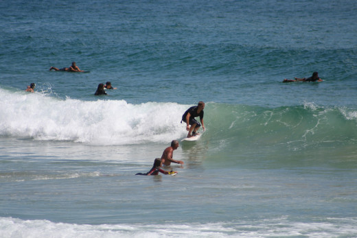If you are going to spend your time in the surf, wouldn't you rather be paid for it?