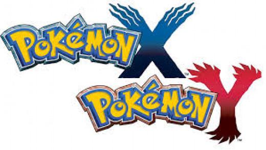 Pokémon X and Y title art