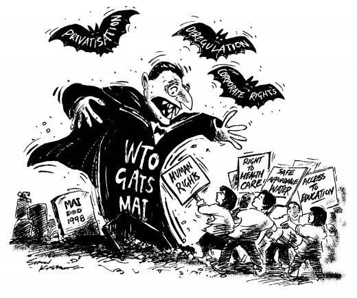 Criticism of the WTO