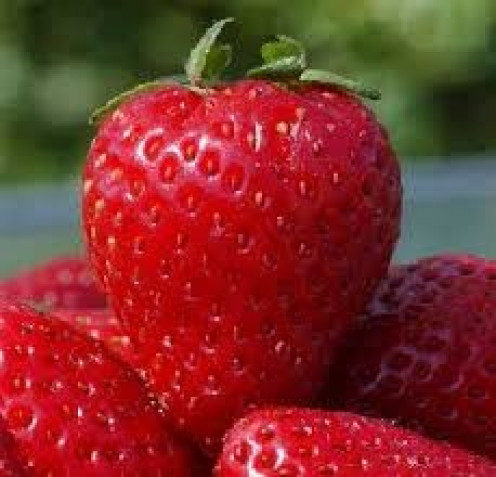 Strawberries are healthy when eaten in moderation and without added sugars.