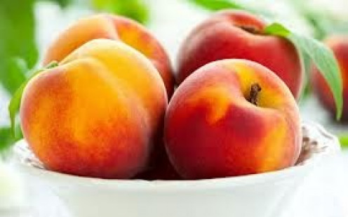 Peaches are very tasty and they are healthy to boot. For best results get peaches from your local farmer.