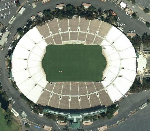The Rose Bowl Seats Over 100,000 Paying Fans.