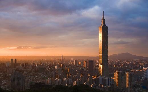 Taipei 101, skyscraper in Taipei