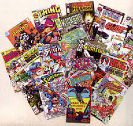Collecting comic books is great fun and highly profitable.