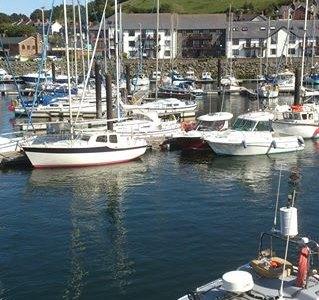 Aberystwyth Harbour.