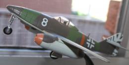 Model of the German jet fighter.