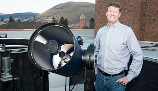 Nate McCrady, Astrophysicist at UM