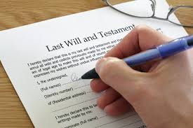 Estate planning is important and you should appoint trusted people to execute your will