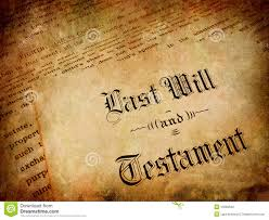 Drawing up a will is important for the ones that you leave behind