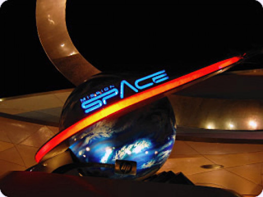 Embark on a far-reaching mission to the Red Planet on Epcot's Mission:SPACE ride.